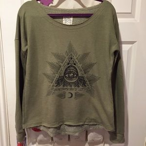 Billabong Sweaters - Billabong graphic sweater